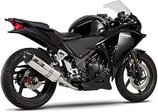 Yoshimura 11-13 Honda CBR250R R-77 Slip-On Exhaust (Race/Stainless Steel with Carbon Fiber End Cap)