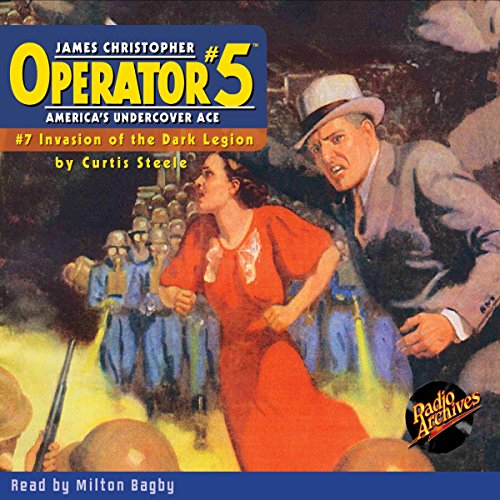 Operator #5 #7 October 1934 audiobook cover art