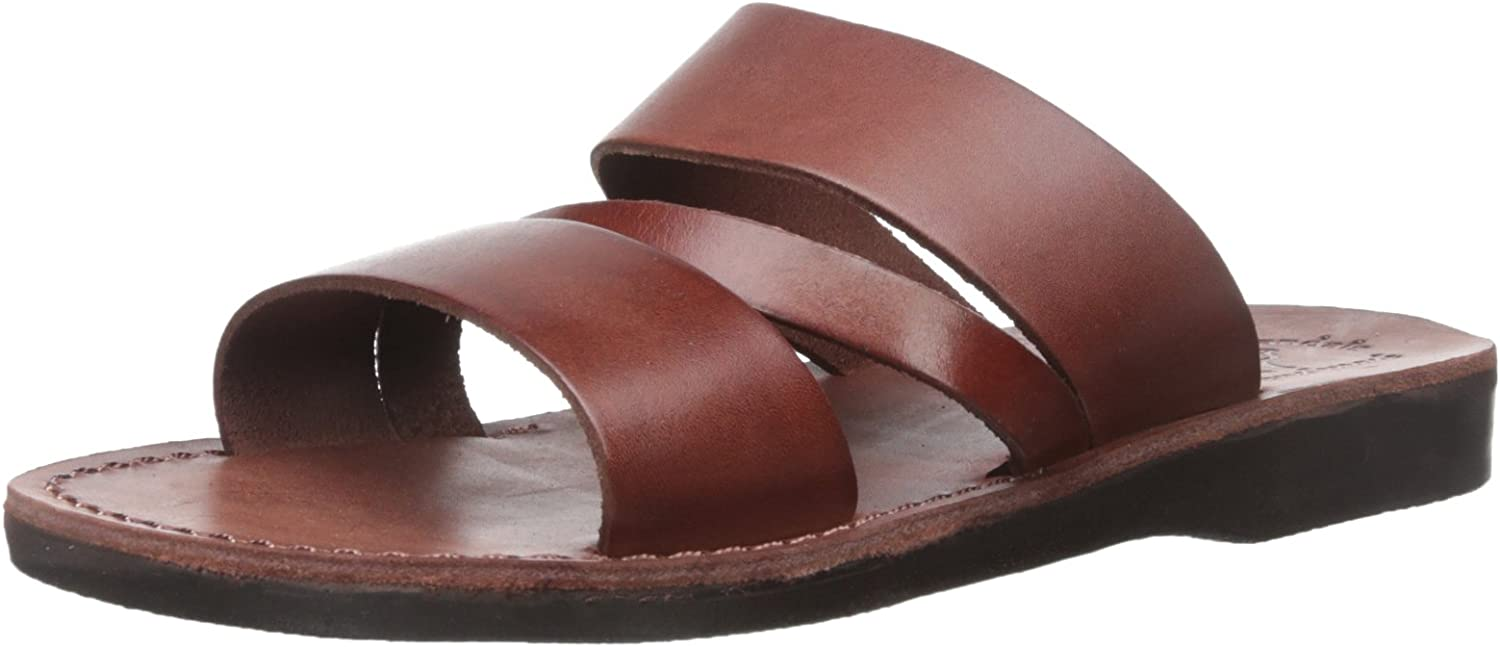 Genuine Free Shipping Boaz - Leather Max 55% OFF Wide Mens Sandals Strap Sandal
