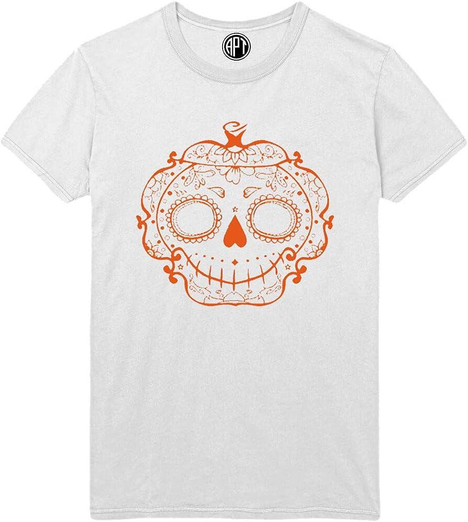 Halloween Sugar Pumpkin Printed T-Shirt