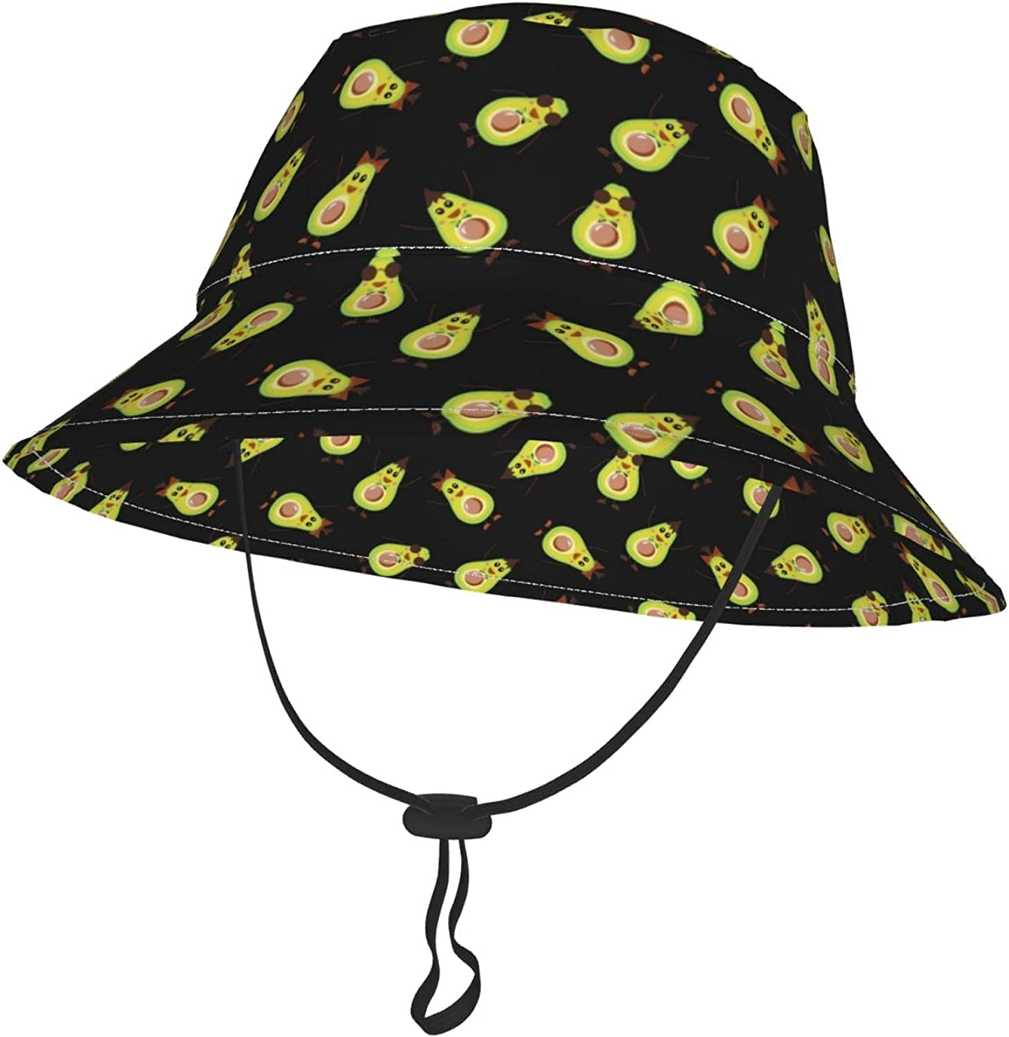 Funny Baby Avocados Opening Max 79% OFF large release sale Bucket Hat Toddler Sun Infant Adjus