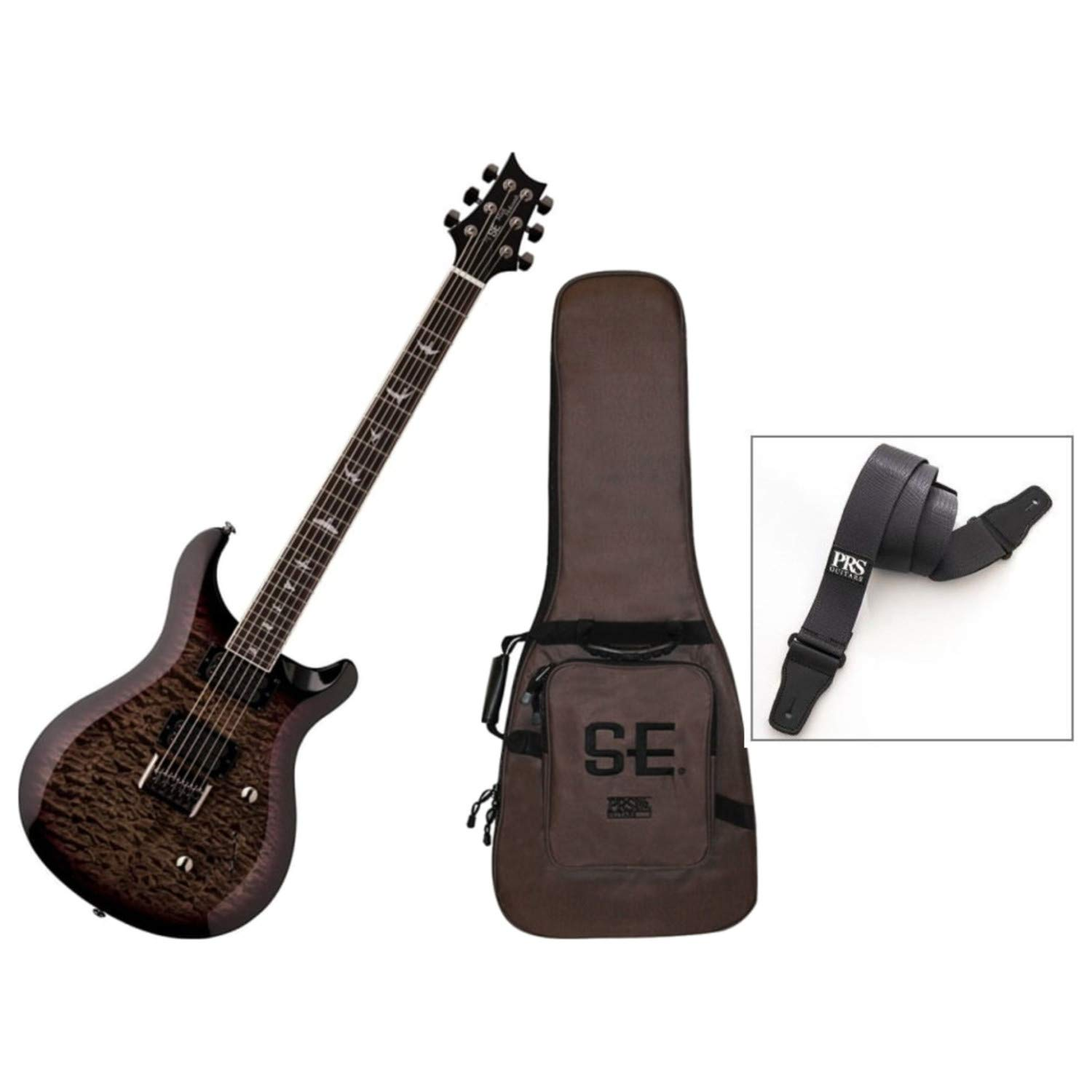 Cheap PRS SE Mark Holcomb Signature Electric Guitar Holcomb Burst w/Gig Bag and Strap Black Friday & Cyber Monday 2019