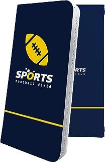 スマートフォンケース・Xperia Z4 SOV31・互換 ケース 手帳型 個性 フットボール ボール ラグビー スポーツ エクスペリア かっこいい XperiaZ4 男性 men [7BF26098rVb]