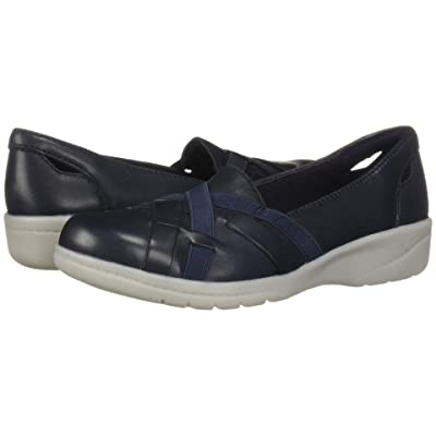 Clarks Cheyn Creek (Navy Leather) Women