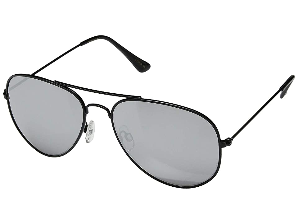 Steve Madden Madden Girl MG492124 (Black/Slate) Fashion Sunglasses