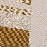 U'Artlines Teppiche aus Baumwolle Maschinenwaschbare mit Quaste Gewebte Baumwolle Wurf Teppiche Läufer für Küche, Wohnzimmer, Schlafzimmer, Waschküche, Eingangsbereich(60 * 130 Gelb) - 6
