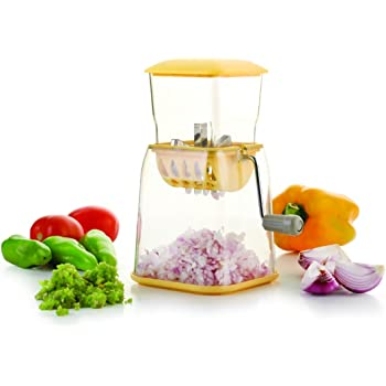 Slings Kitchen Onion, Chilly, Dry Fruit & Vegetable Cutter, 1-Piece (Color May Vary)