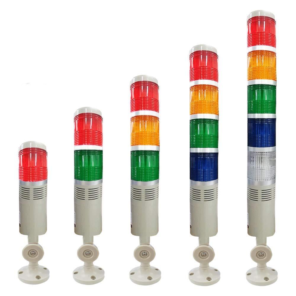 YJINGRUI 4 Layers Industrial Signal Tower Stack Ala Light Safety 人気商品 タイムセール