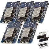 ✔️ Sichern Sie sich jetzt fünf D1 Mini NodeMcu mit ESP8266-12F zum Vorteilspreis mit Mengenrabatt! ✔️ Der AZ-Delivery D1 mini ist ein Mini-NodeMcu Lua WiFi-Board basierend auf einem ESP-8266-12F.Dieses WLANboard enthält 11 digitale Ein- / Ausgangspin...
