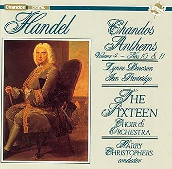 Handel: Chandos Anthems, Vol. 4