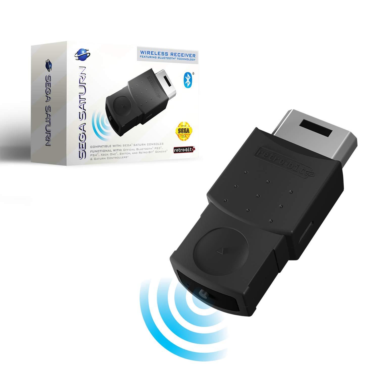 Retro-Bit - Receptor Bluetooth oficial Sega Saturn para consola Sega Saturn: Amazon.es: Electrónica