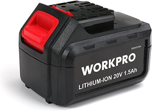 lowest WORKPRO 20V Replacement Li-ion Battery discount for 20V Pink Cordless Drill sale Driver online