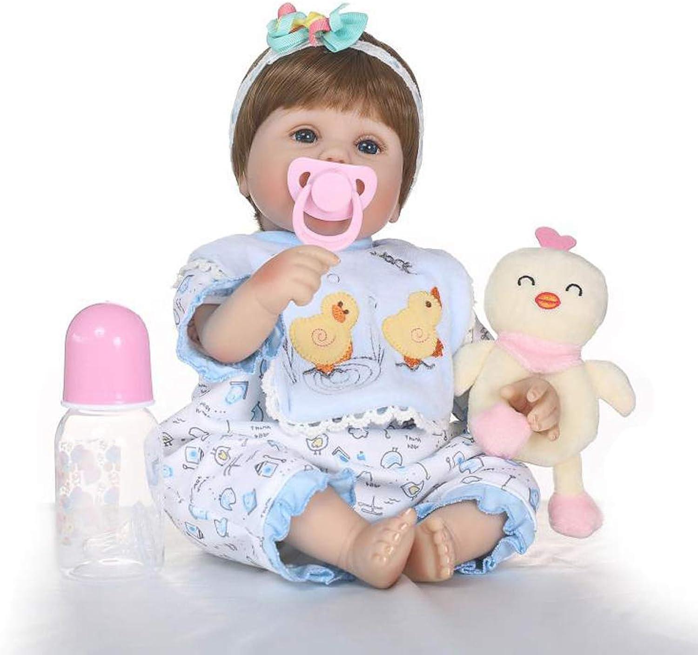 Vuelta de 10 dias IIWOJ Reborn Reborn Reborn Baby Doll, simulación bebé Suave Silicona 15,75 Pulgadas muñeca Realista recién Nacido-Regalos de la Muchacha Encantadora  Entrega gratuita y rápida disponible.
