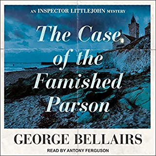 The Case of the Famished Parson audiobook cover art