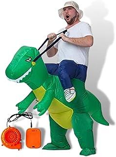 mugenbo 恐竜 ハロウィン コスプレ おもしろコスプレ 着ぐるみ 仮装 変装 エアコス イベントグッズ コスチューム パーティーグッズ