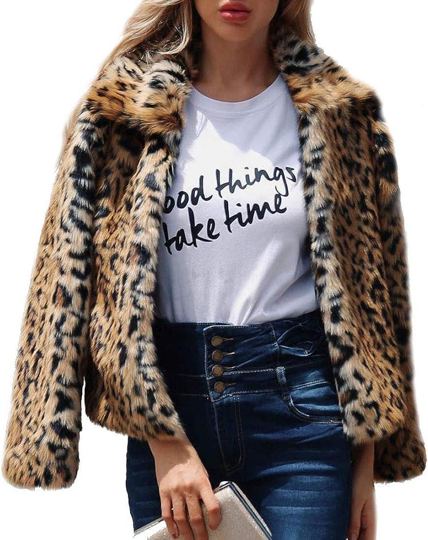 New Free Shipping Max 76% OFF Women's Faux Fur Coat Fashion Outwear Jacket Cardiga Winter Warm