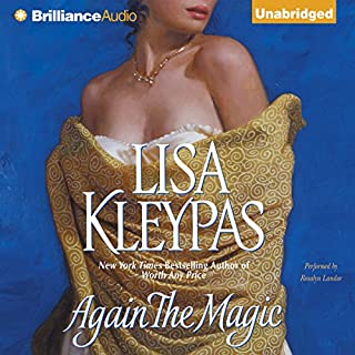 Again the Magic                   By:                                                                                                                                 Lisa Kleypas                               Narrated by:                                                                                                                                 Rosalyn Landor                      Length: 10 hrs and 40 mins     1,089 ratings     Overall 4.3