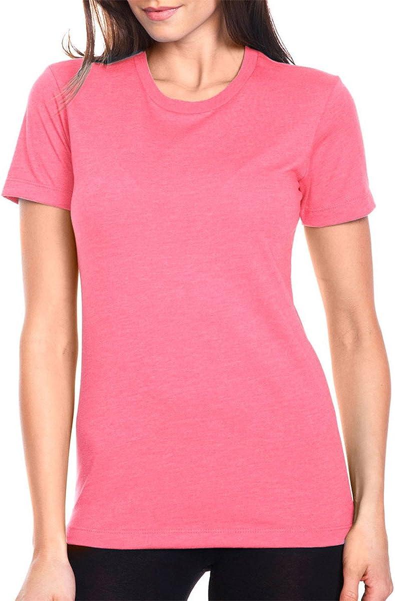 Next Level Women's Tear Away T-Shirt XX-Larg Hot Pink New item Crewneck half