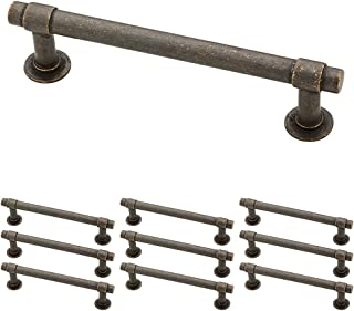 Franklin Brass P29617K-WCN-B, Francisco Drawer Pulls Cabinet Hardware Collection, Cabinet Pulls, 4 in., Aged Bronze, 10 pack