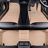 Coche Mat Suelo Alfombra Cuero Alfombrillas Antideslizantes Esteras Impermeable Moqueta Set Delanteras y Traseras Cobertura Completa para BMW 2 Series F22 Coupe 2014-2018 Accesorios