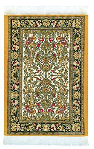 Orientalisches Teppich-Mauspad, authentischer gewebter Teppich, Hereke-Design