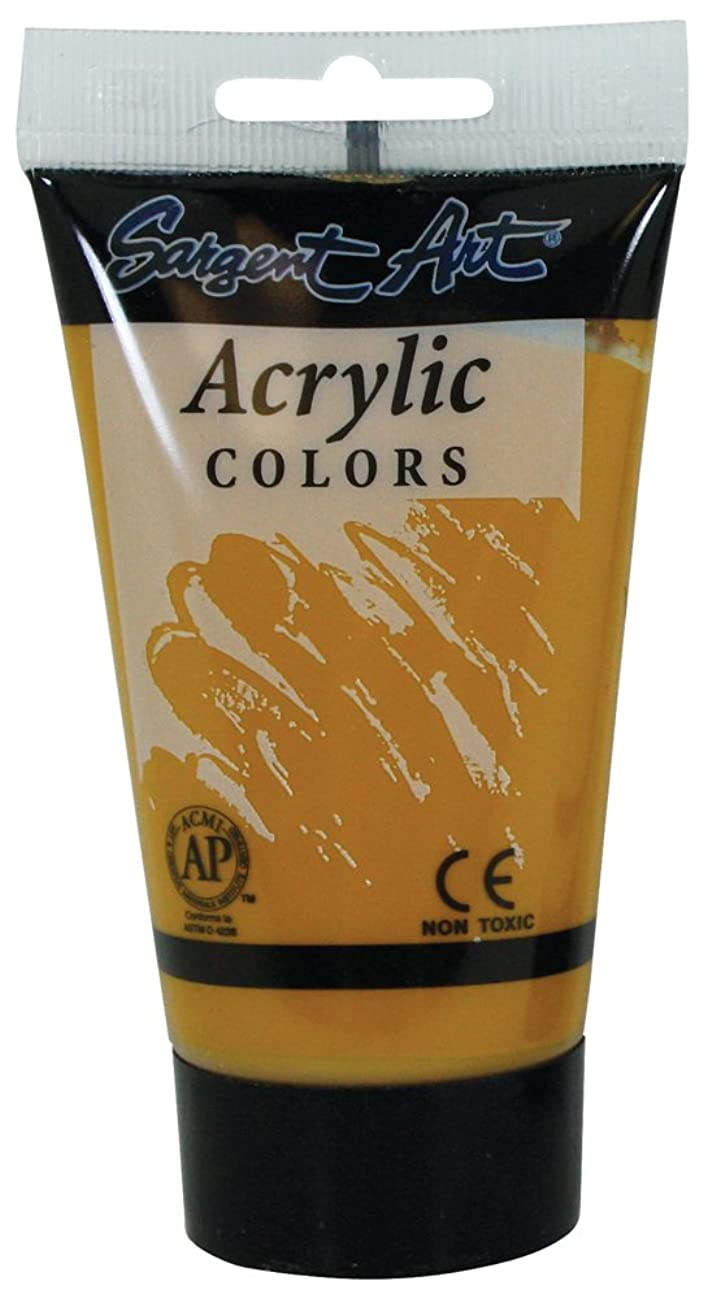 Sargent Art 23-0292 75-Millilitre Tube Acrylic Paint, Yellow Ochre