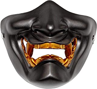 Half face mask Like Demon mask Costume Party Props Halloween Role Play