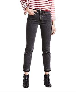 Calça Jeans Levis Wedgie Icon Feminino Cinza