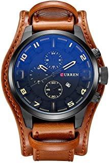Curren Casual Watch For Men Analog Leather - CR8225