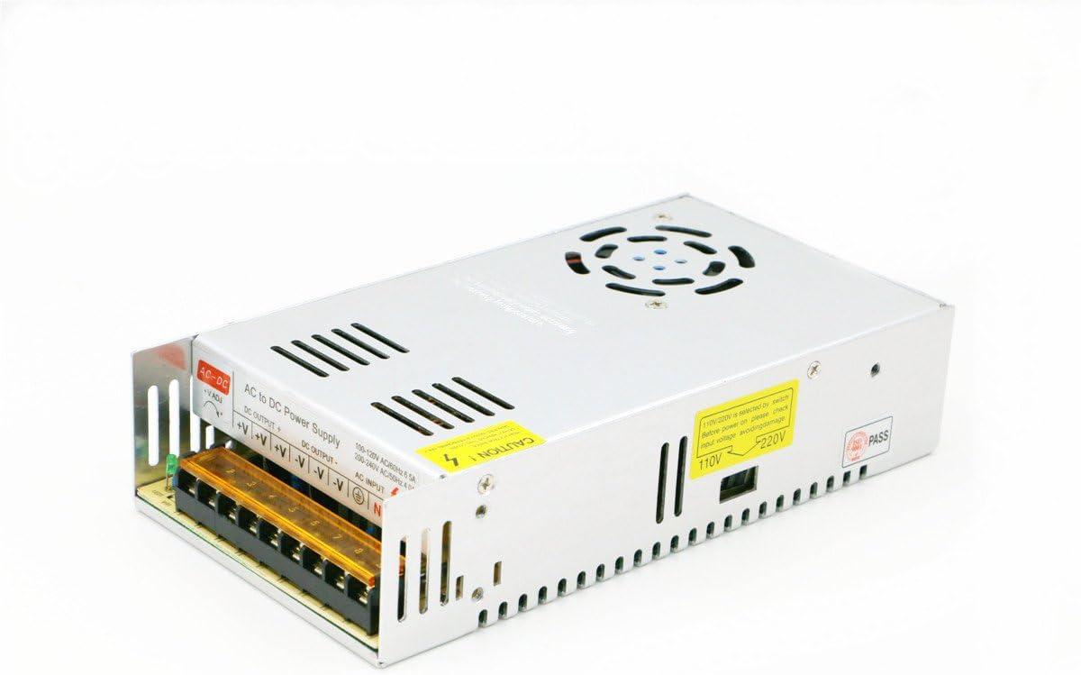 Fuente de alimentación universal de conmutación cortocircuito y sobrecarga AC100-260V DC24V 10A-45A