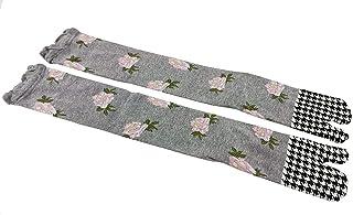 Longford Store UK, Tabi Socks 'Saku' japonesa Split 2 dedos Ninja Flip Flop Geta Sandalias Calcetines Senior