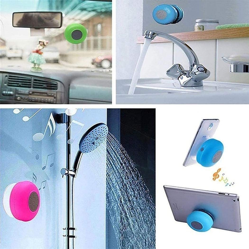 Zronji Portable Waterproof Wireless Stereo Bluetooth Speaker Card Music Player Computer Speakers
