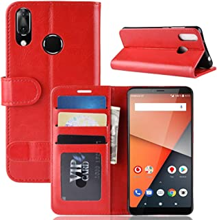 CN Case for Vodafone Smart X9 Case Flip leather + TPU Silicone fixing Cover 3