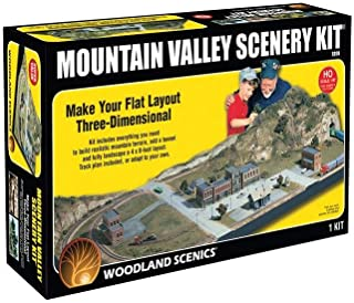 Mountain Valley Scenery Kit Woodland Scenics