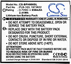 Cameron Sino 650mAh Battery Compatible with Bang & Olufsen BeoPlay H7, BeoPlay H8, H7, H8