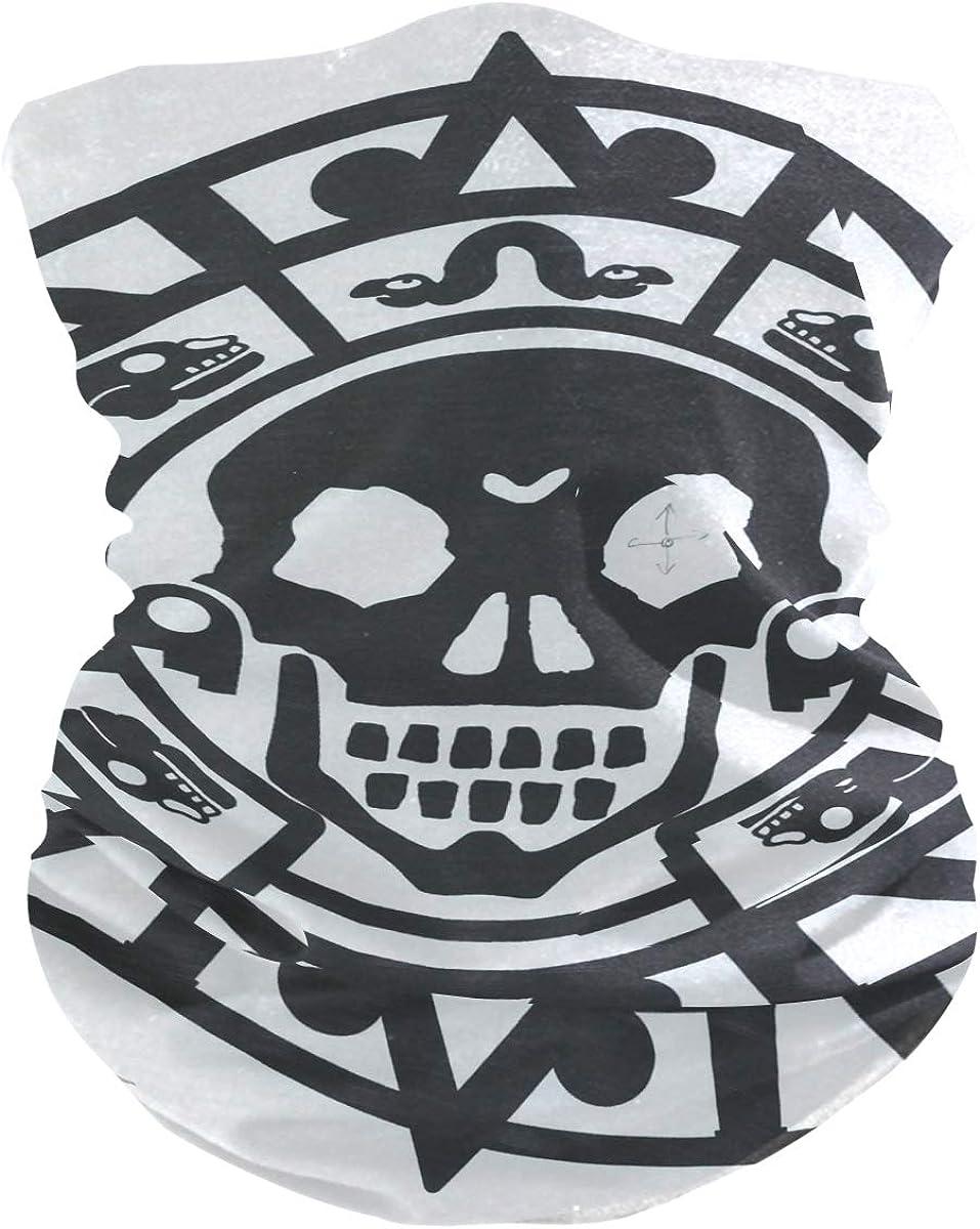 Pirates CoinPrint Headband Face UV Sun Protection Mask Neck Gaiter Magic Scarf Bandana Headwear Balaclava for Women Men
