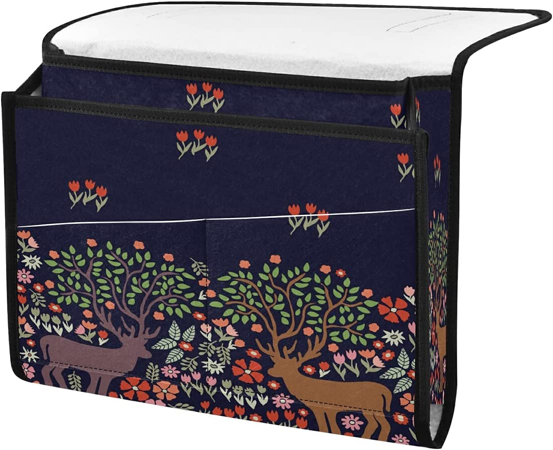 TropicalLife ECHOLI Bedside Storage Organizer 67% OFF Today's only of fixed price Deer Animal Caddy