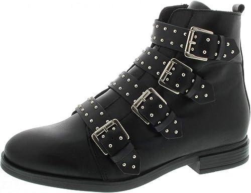 Bullboxer 486510e6l_bkbktd80 - botas de Piel Lisa para mujer