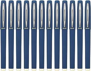 Baoke Gel Ink Pens Rollerball Pens 0.7mm Medium Line, Box of 12 Pack, PC1838 (blue)