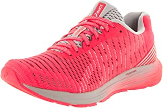 ASICS Women's 1012a002 Dynaflyte 3 Running Shoe Black/Flash Coral 5 B(M) US