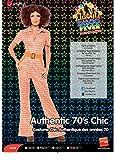 Smiffys, Damen 70er Chic Kostüm, Overall, Größe: M, 43188