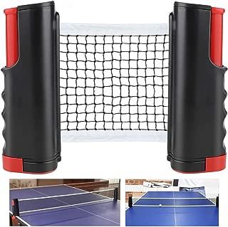 CHUER Red de Tenis de Mesa, Red Ajustable de Ping Pong