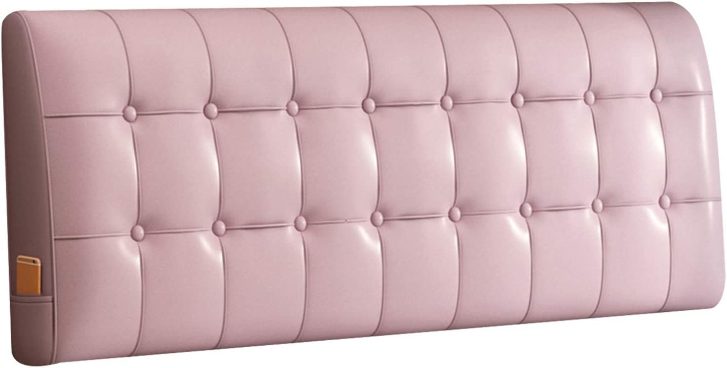 WENZHE Upholstered Headboard Reading Omaha Mall PU Bedside Cushion Pillow Super-cheap