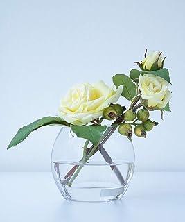 (エミリオロバ) EMILIO ROBBA TTITC25045 バラ ローズ ガラス 花器 花 アレンジメント アートフラワー ギフト お祝い