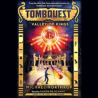 Valley of Kings audiobook cover art