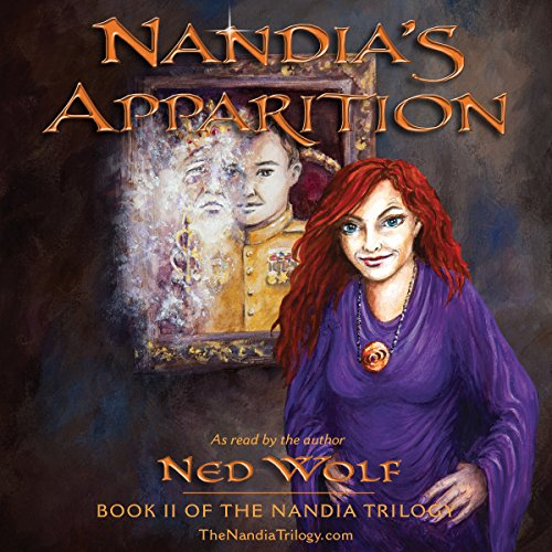 Nandia's Apparition audiobook cover art