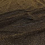 CHWK Gold Silber Metallic Garn Nylon Net Stoff Glitter