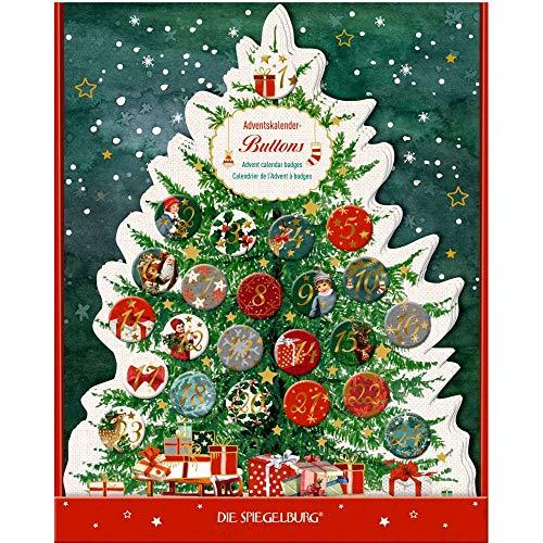 Die Spiegelburg 15103 Adventskalenderbuttons Schöne Weihnachtszeit!