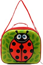 Skool Ladybug Carry-All Lunch Bag, Red and Green
