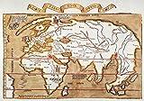 Waldseemuller Weltkarte Nmap of the World von Martin